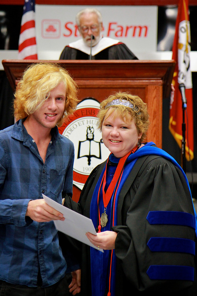 56th Annual Academic Awards Day Ceremony. First Year English Composition Award: Michael Matthew McClay