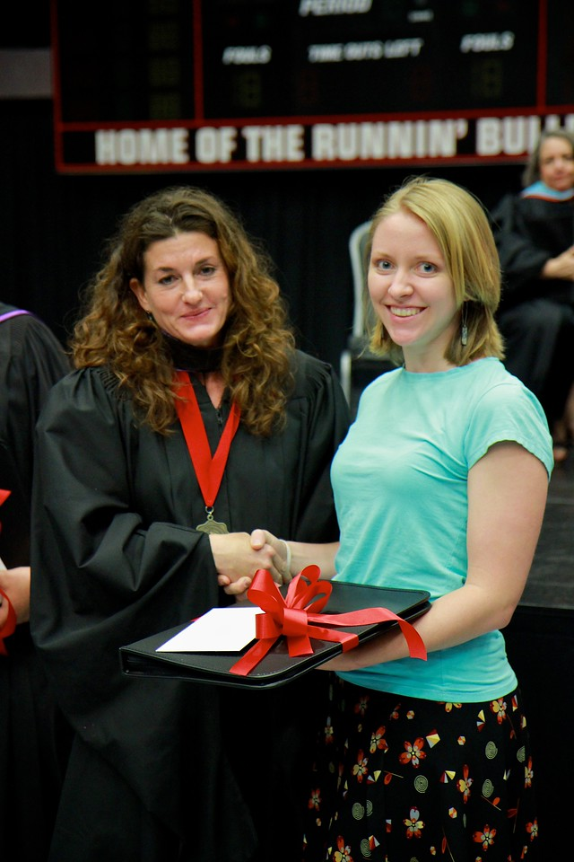 56th Annual Academic Awards Day Ceremony. Professor James Rash Award: Erica Frances Rupp