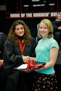 56th Annual Academic Awards Day Ceremony. Professor James Rash Award: Erica Frances Rupp