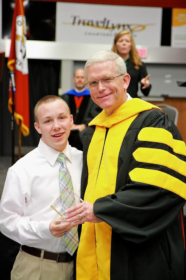 56th Annual Academic Awards Day Ceremony. Psychology Award: Jesse Elijah Roberts