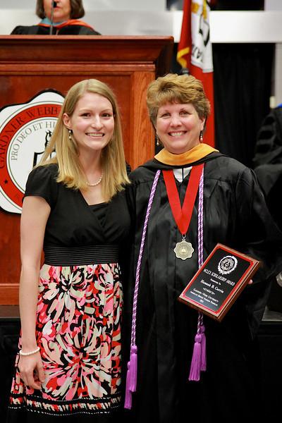 56th Annual Academic Awards Day Ceremony. NCLEX Scholarship Award: Hannah Blue Currin