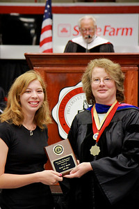56th Annual Academic Awards Day Ceremony. First Year Mathematics Achievement Award: Sarah Grace Baylor