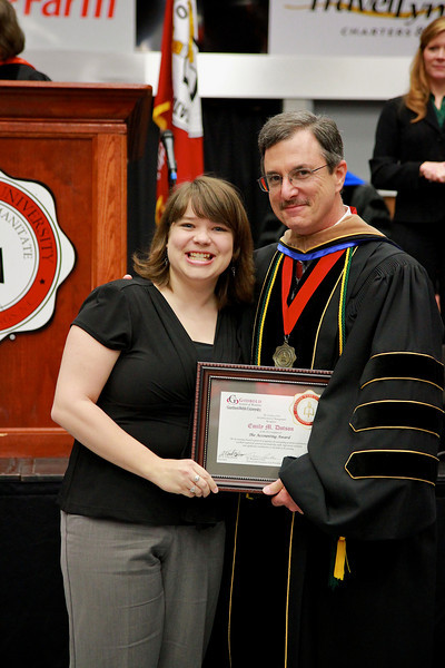 56th Annual Academic Awards Day Ceremony. Accounting Award: Emily Marie Dotson