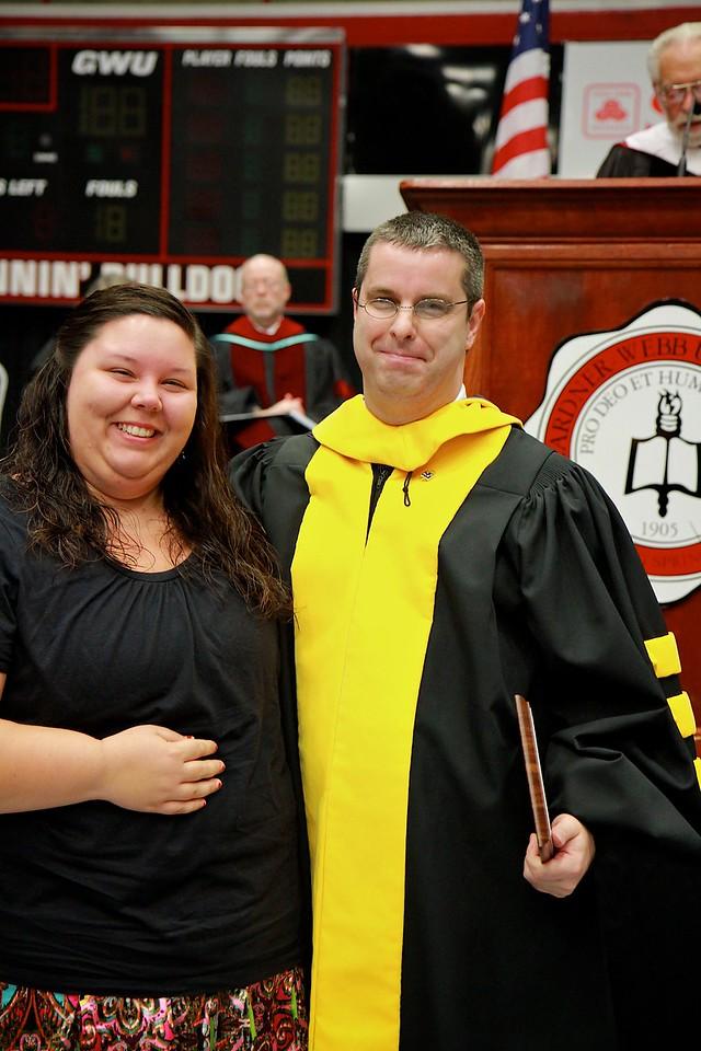 56th Annual Academic Awards Day Ceremony. M. A. Moseley Jr. Senior Chemistry Award: Samantha Lynn Riebold