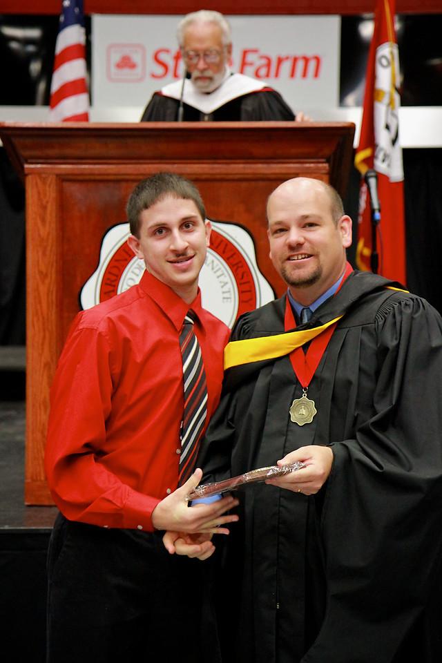 56th Annual Academic Awards Day Ceremony. Mathematics Major Award: Joshua David Bridges
