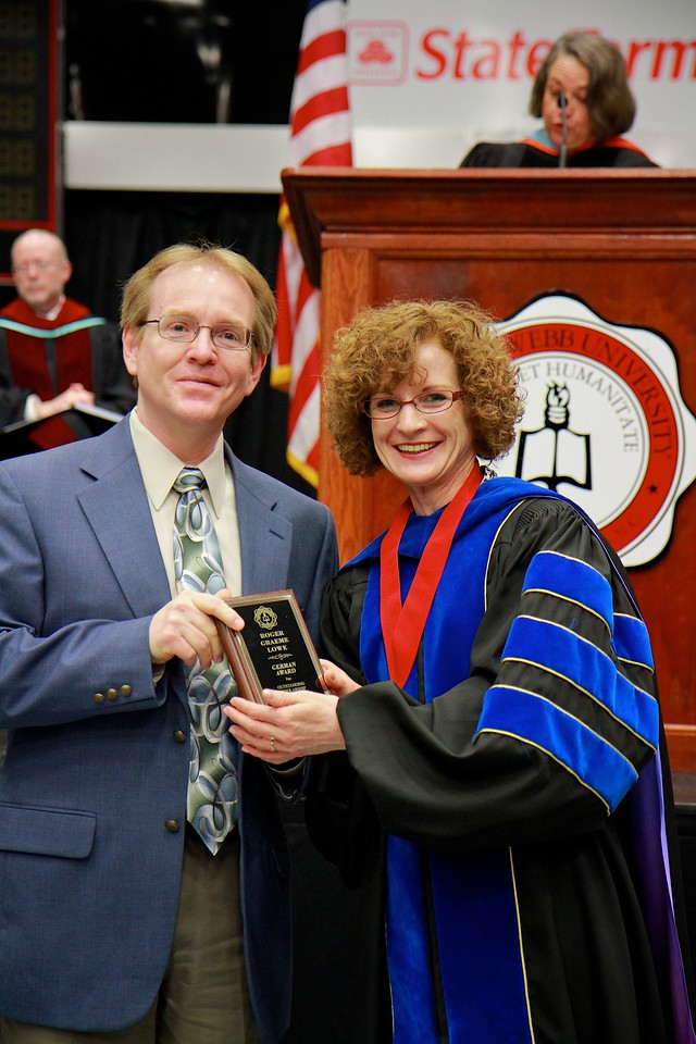 56th Annual Academic Awards Day Ceremony. German Award: Roger Graeme Lowe