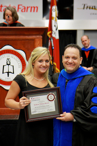 56th Annual Academic Awards Day Ceremony. International Business Award: Kathryn Victoria Bryant