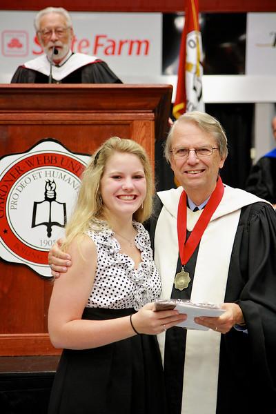 56th Annual Academic Awards Day Ceremony. First Year Music Award: Bonnie Elizabeth Scruggs