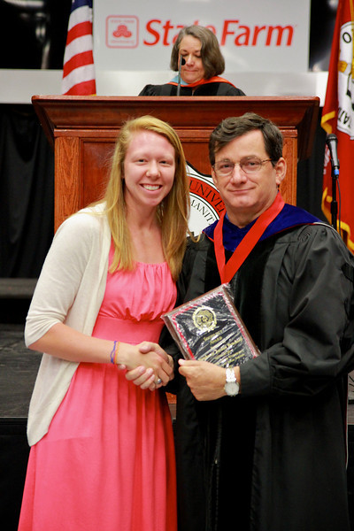 56th Annual Academic Awards Day Ceremony. Sociology Award: Stephanie Jordan Benshoof