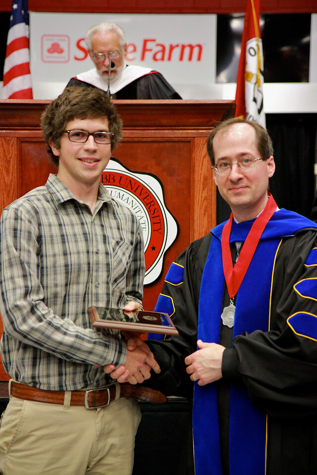 56th Annual Academic Awards Day Ceremony. Greek Award: John Wallace Compton IV