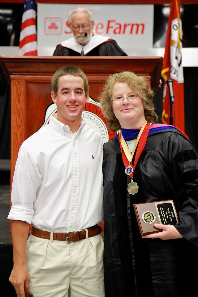56th Annual Academic Awards Day Ceremony. First Year Mathematics Achievement Award: Andrew Phillip Barnett