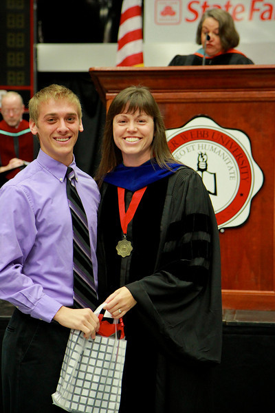 56th Annual Academic Awards Day Ceremony. Secondary Student Teaching Award: Keith Andrew Menhinick