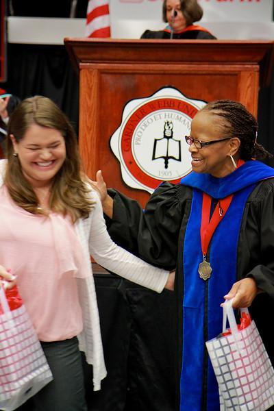 56th Annual Academic Awards Day Ceremony. Elementary Education Student Teaching Award: Shea Joanna Doty