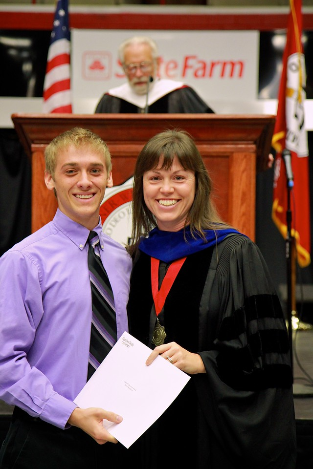 56th Annual Academic Awards Day Ceremony. English Education Award: Keith Andrew Menhinick