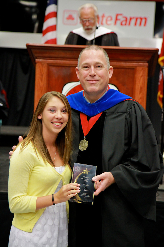 56th Annual Academic Awards Day Ceremony. Physical Education Major Award: Taylor Jo Bowen