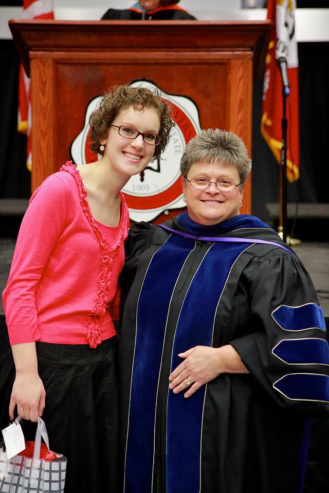 56th Annual Academic Awards Day Ceremony. Teacher Education Scholarship Award: Blair Emily Austin