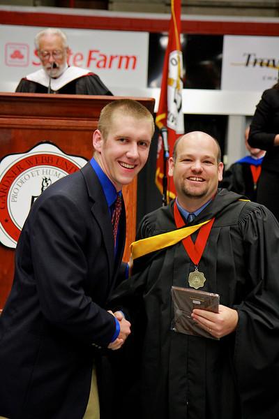 56th Annual Academic Awards Day Ceremony. Mathematics Major Award: Trent Gregory Kozman