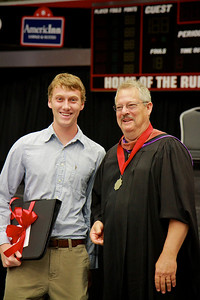 56th Annual Academic Awards Day Ceremony. Professor James Rash Award: Jack Harold Zimmerman