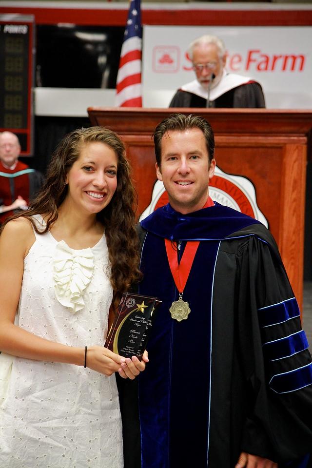 56th Annual Academic Awards Day Ceremony. Health and Wellness Major Award: Marcesa Nicole Pace