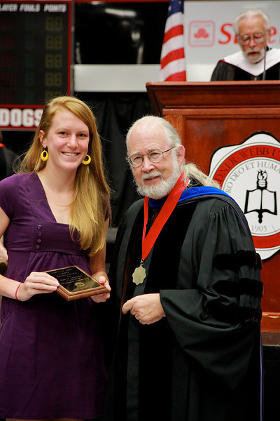 56th Annual Academic Awards Day Ceremony. Journalism Award: Diana Dawn Palka
