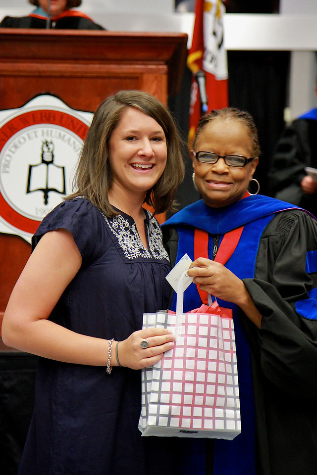 56th Annual Academic Awards Day Ceremony. Elementary Education Student Teaching Award: Jessica Leigh Dillon
