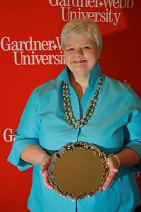 Apples and Accolades Awards Ceremony; May 2011. 25-Year Award: Susan Bell