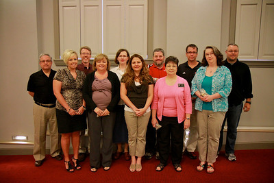 Apples and Accolades Awards Ceremony; May 2011. 10-Year Award