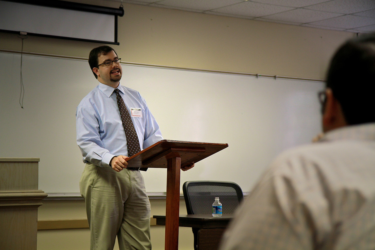 NABP (National Association of Baptist Professors of Religion) Conferencebreakout sessions on the campus of Gardner-Webb University; May 2011.