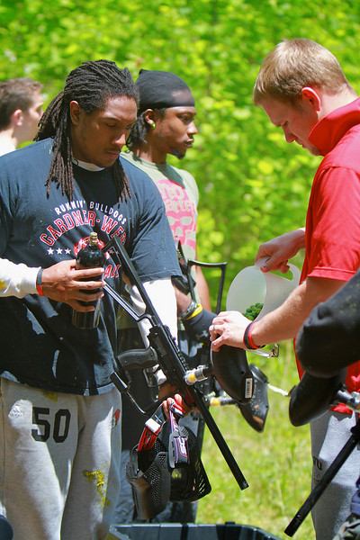 Campus Recreation hosts paintball on campus; May 06, 2011.