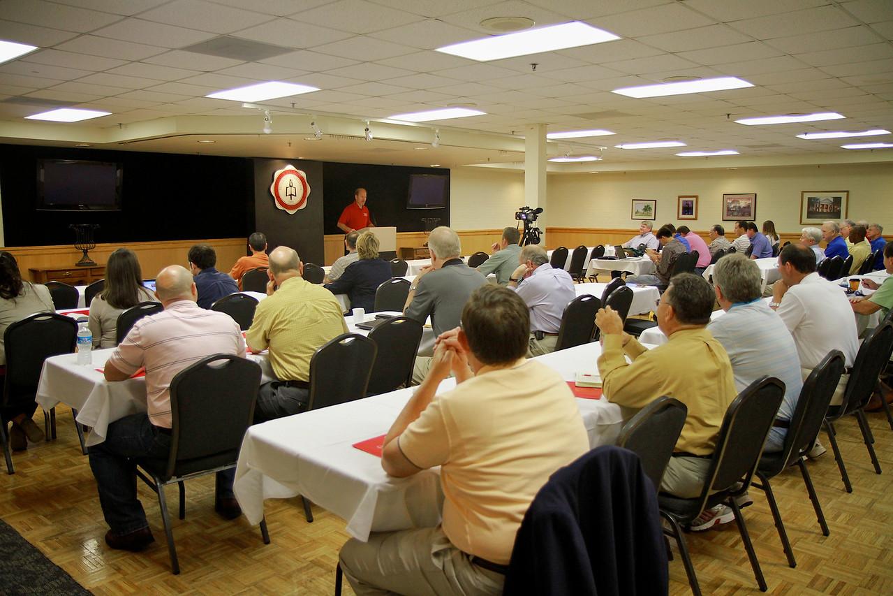 Pastor's School on the campus of Gardner-Webb University; May 31, 2011.
