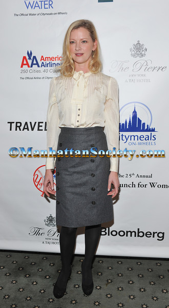 Gretchen Mol CITYMEALS-ON-WHEELS 25TH ANNUAL POWER LUNCH FOR WOMEN Honoring Marcia Stein & Travelers Insurance on Friday, November 18, 2011 at The Pierre Hotel, 2 East 61st Street, New York City, NY.  PHOTO CREDIT: Joe Corrigan for ManhattanSociety.com