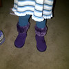 new purple boots