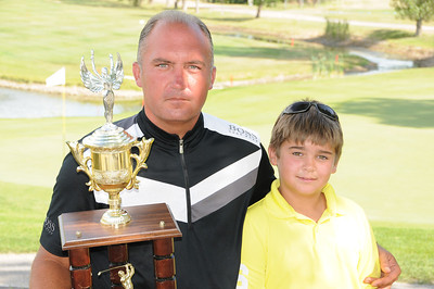 "Mid-amateur champ, Ben Bandura, from the home course of Selkirk, took medalist honours during the 2011 Manitoba Mid-amateur championships. With his son caddying, he commented, ""I really wanted to win this for my boy!"" Photos by Mike Lagace"