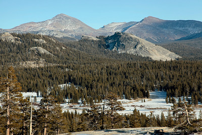 Lembert Dome and Dana from Pothole Dome.
