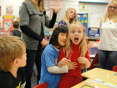 Dec 2011 - Miranda's 1st grade Holiday Party