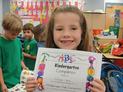 May 2011 - Miranda's Kindergarden Graduation