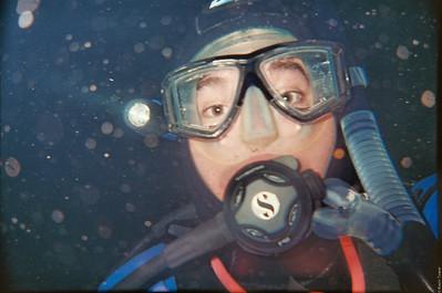 Diver Self Portrait