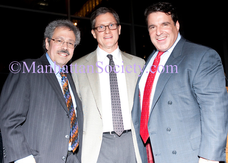 Mitchell S. Cairo, MD, Rob Quish, Dr. Robert Hariri, MD, PhD attend 1st Annual PCRF Benefit:Dream. Discover. Cure. at the MoMA for Picasso Guitars 1912-1914 on Wednesday, March 9, 2011 at The MoMA, 11 West 53rd Street, New York City, NY (PHOTO CREDIT: ©2011 Manhattan Society.com)