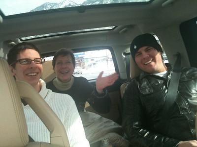 Mom, Craig and Cory's Visit 2011