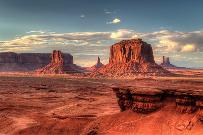 Monument Valley - HDR Processed using Photomatix and Aperture