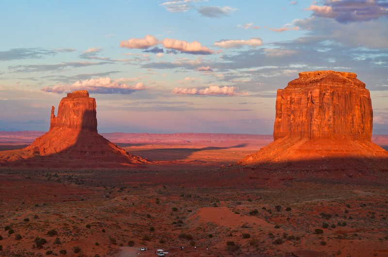 Monument Valley - Processed using Aperture and Topaz Adjust