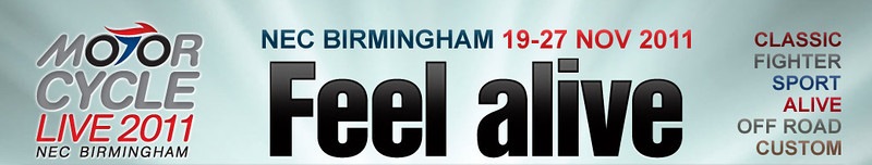 Motorcycle Live at the NEC Birmingham, 21 Nov 2011