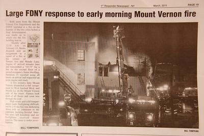 1st Responder Newspaper - NY - March 2011