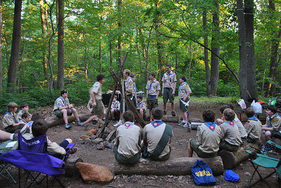 Mr. Flesher's Wood Badge Ceremony