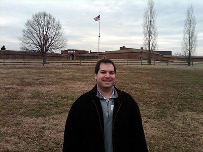 At the Fort McHenry National Monument and Historic Shrine (2/21/11)