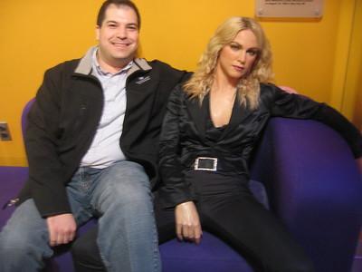 Craig with Madonna (3/8/11)