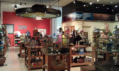 Gift shop at the National Geographic Museum (8/18/11)