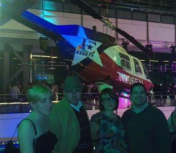 "At a party at the Newseum.  The others were going for the ""disaffected hipster"" look, and I apparently didn't get the memo. (3/25/11)"