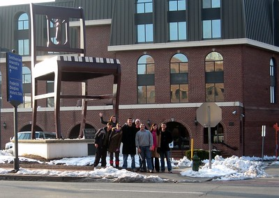 At the Big Chair in Anacostia (1/30/11)