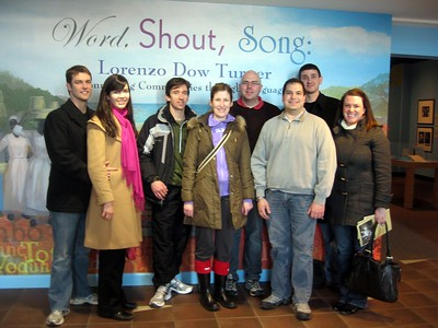 Word, Shout, Song exhibit about Lorenzo Dow Turner, at the Smithsonian's Anacostia Community Museum (1/30/11)